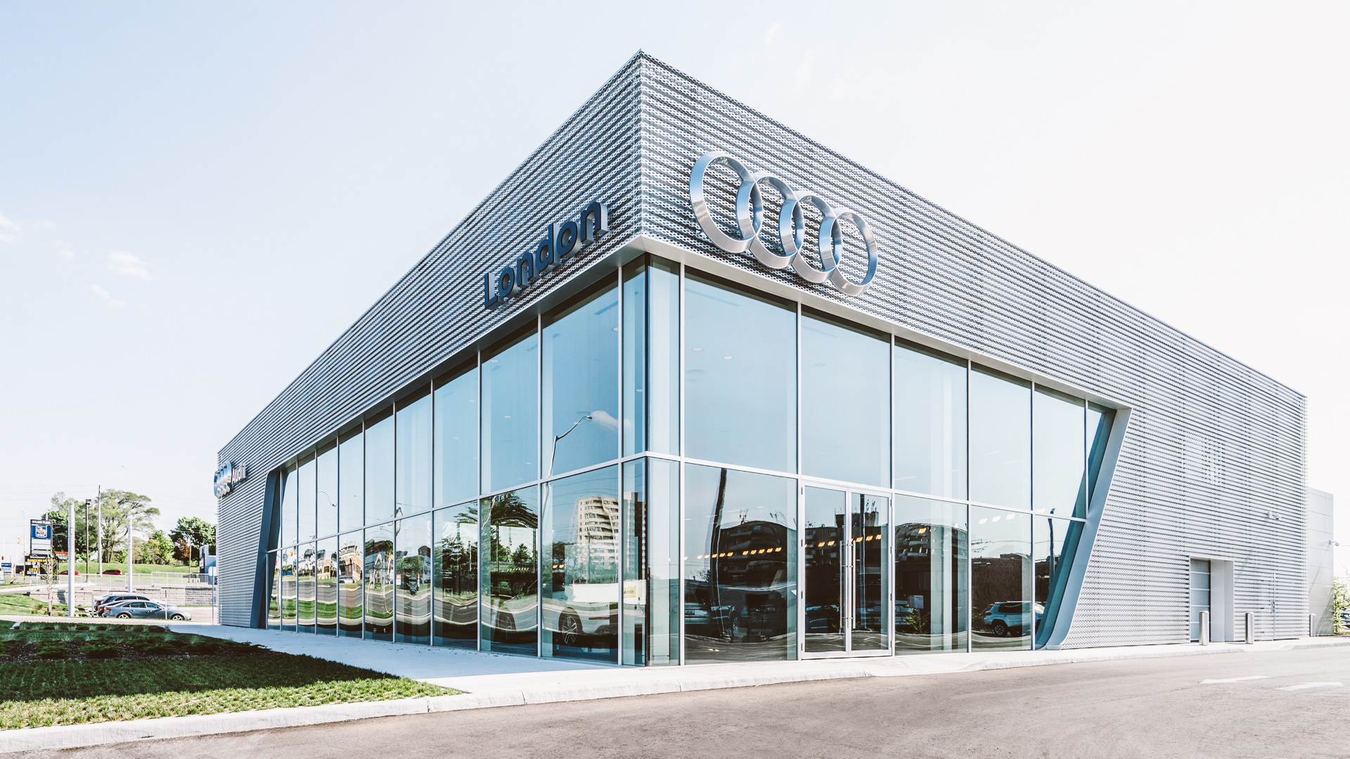 London Audi Architectural Photography by Scott Webb