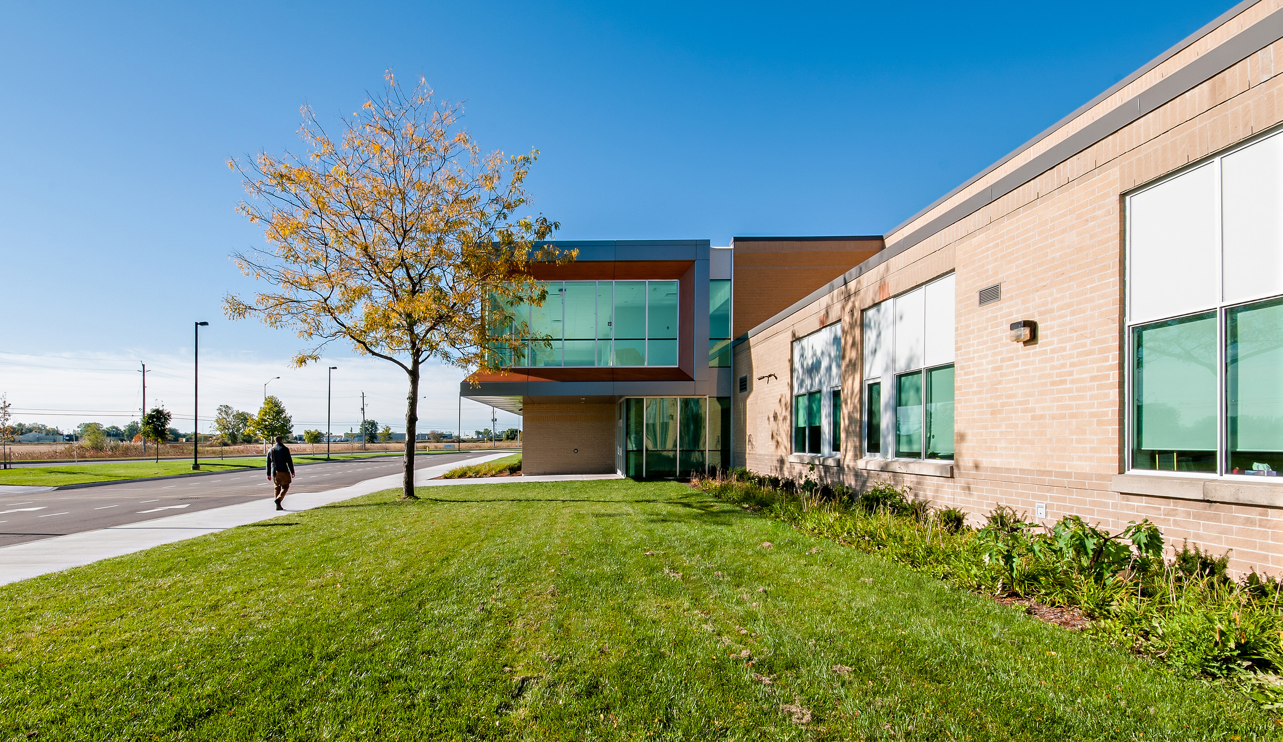 Architectural photography of School by Scott Webb Photography