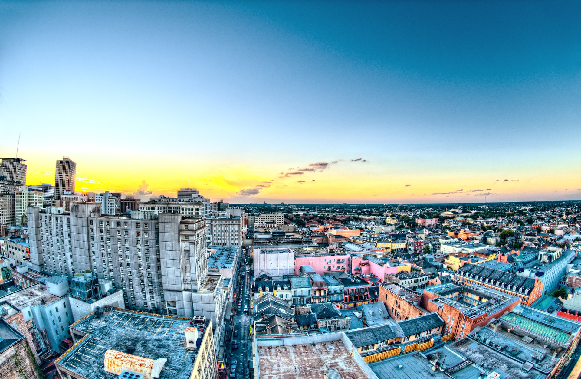 Looking Over New Orleans - Photo by Scott Webb