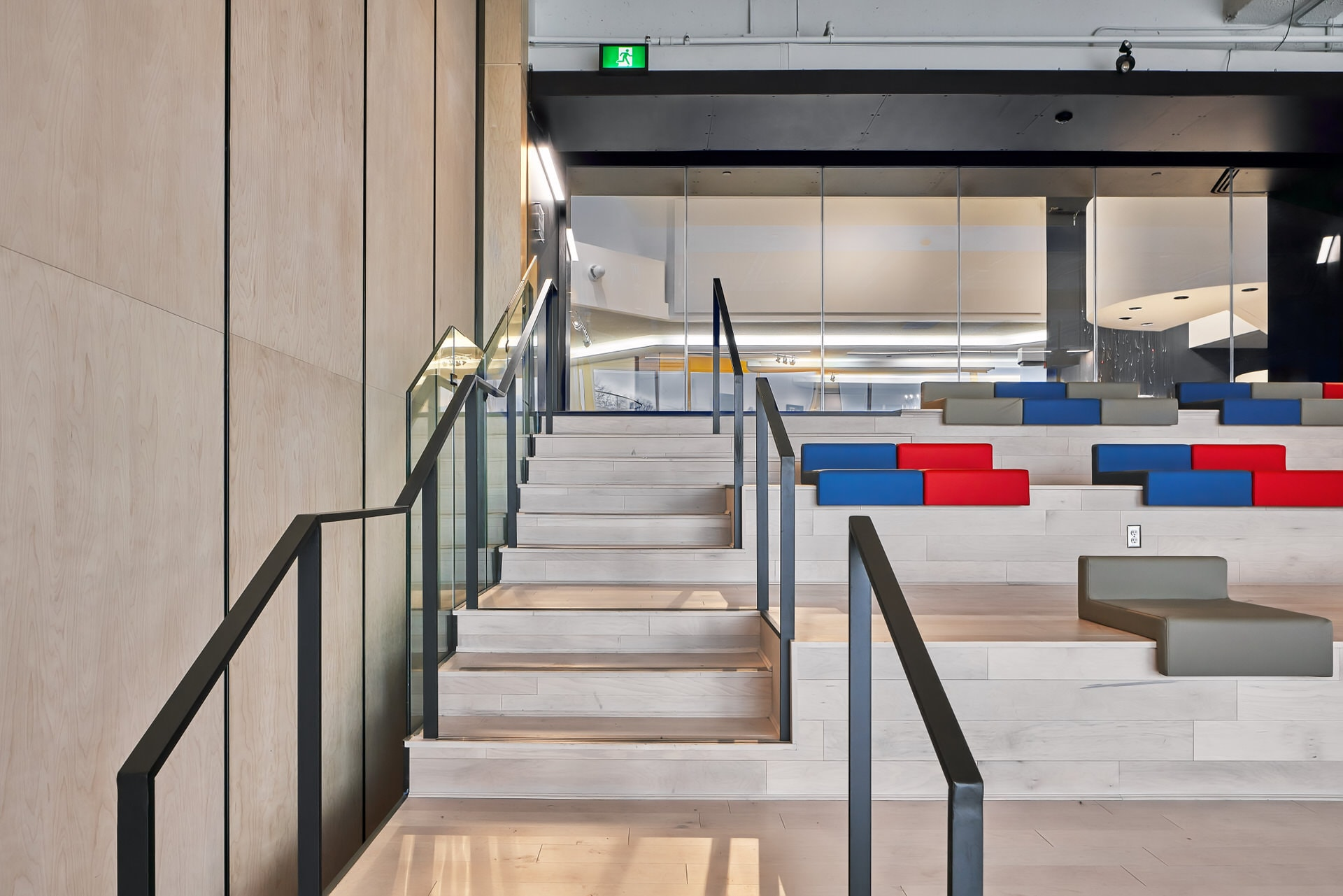 Interior Architectural Photo of staircase