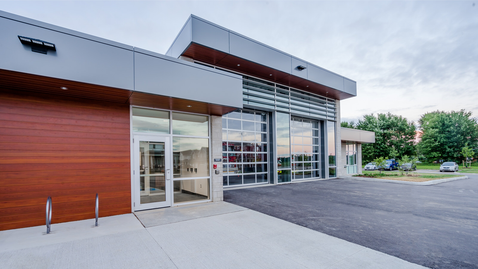 New No. 11 Fire Station in London Ontario Design by Ryan Ollson of Cornerstone Architecture