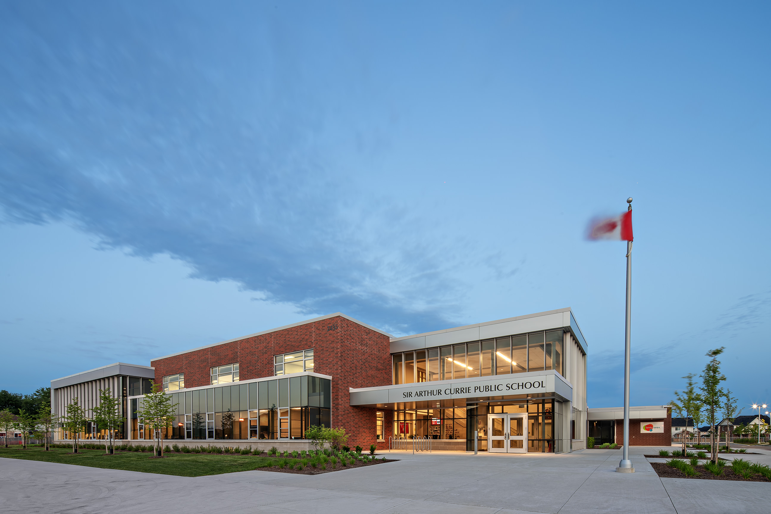Lights come on at Twilight for Sir Arthur Currie Public School